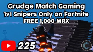 First Grudge Match Gaming Challenge - 1v1 Snipers Only on Fortnite - Free 1,000 Metrix on Signup