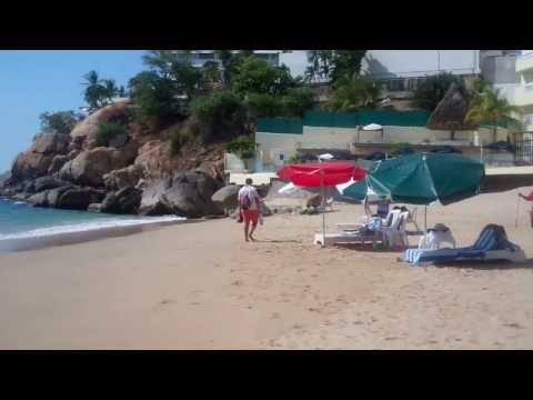 A Day at the Pool and Beach - Acapulco, Mexico