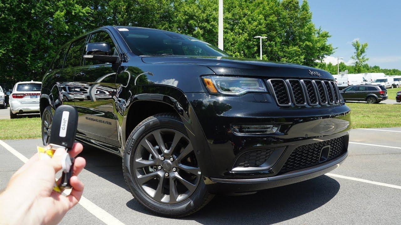 Black Jeep Grand Cherokee High Altitude