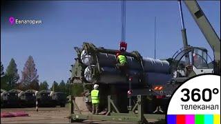 Третий дивизион С-400 заступил на боевое дежурство в Крыму