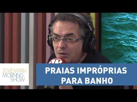 Relatório Da Cetesb Aponta Praias Impróprias Para Banho No Litoral De São Paulo
