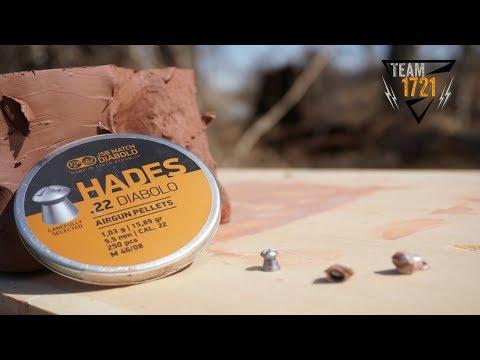 JSB Hades 22 Diabolo Pellet Test