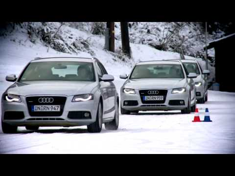 Audi Ice Driving Experience - Winter driving tips from Audi