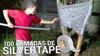 FIZ UMA PAREDE INDESTRUTÍVEL COM 100 CAMADAS DE SILVER TAPE ft. (The Master Invenções)