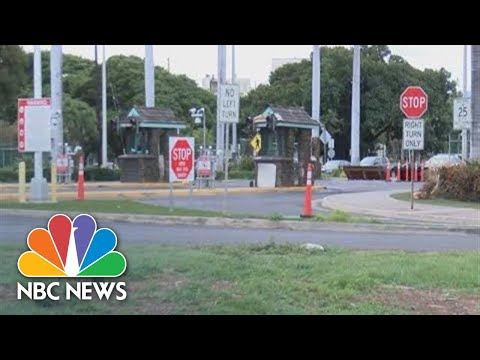 Reported Shooting At Pearl Harbor Naval Shipyard | NBC News (Live Stream Recording)