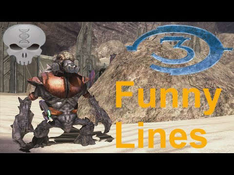 Lines of Halo - Halo 3 Grunts + extras (funny dialogue)