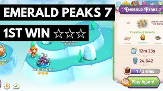 Merge Magic Emerald Peaks 7 • 3 Stars On 1st Win ☆☆☆