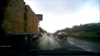 M62 Junction 10 - Crash 4th July 2016