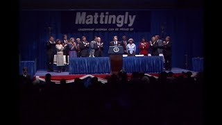 President Reagan's Remarks at a Campaign Rally for Senator Mack Mattingly on October 8, 1986