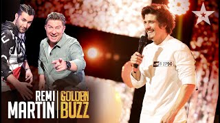Românii au talent 2021: Remi Martin  a primit Golden Buzz de la Smiley și Pavel Bartoș