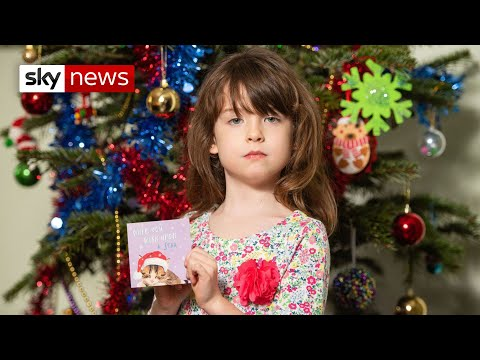 6-year-old girl finds China prisoner plea in Tesco charity card
