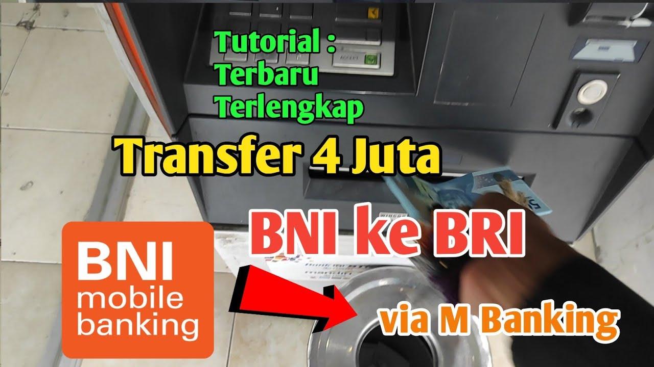 Cara transfer bni ke bri mobile banking