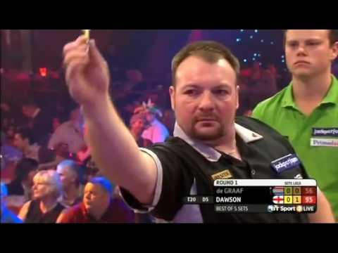 Darts World Championship 2015 Round 1 de Graaf vs Dawson