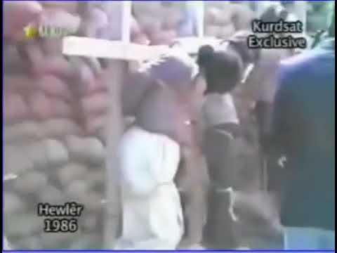 (1986) - IRAKER Saddam Hussein lässt 4 Kurden vor aller Öffentlichkeit hinrichten Hewlêr Erbil