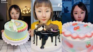 ASMR Special of Ll379526534 Eating CREAMY CAKES Mukbang  먹방   饮食表演   การแสดงการกิน  食事ショー screenshot 5