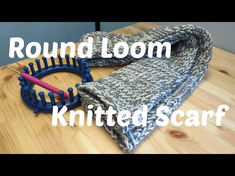 knifty knitter scarf instructions for round looms