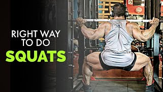 Learn the Right Way to do Squats   Benefits of Squats   Yatinder Singh