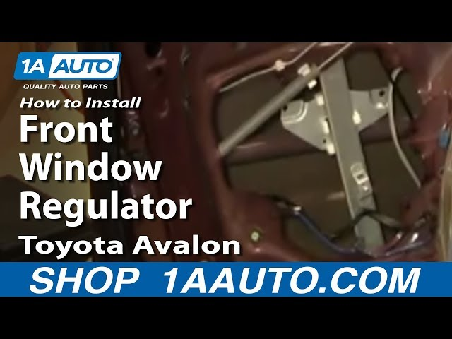 Fits Toyota Avalon 95-99 Drivers Front Power Window Regulator /& Motor Assembly