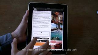 Jetsetter iPad app demo_ 360-degree photos, luxury travel deals