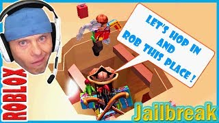 EASIEST ROBBERIES EVER in JAILBREAK | The Fisherpatch Episode // ROBLOX