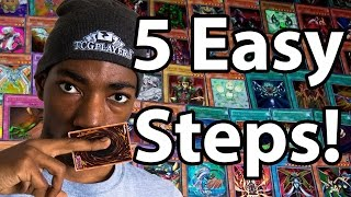 5 STEPS TO GET BETTER AT YUGIOH!!