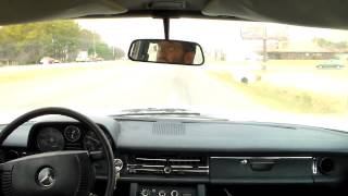 Repeat youtube video Take a drive in 1973 Mercedes 220D