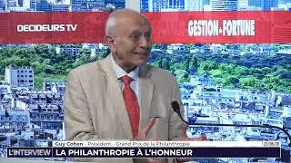 L'Interview - Gestion de Fortune - La philanthropie à l'honneur