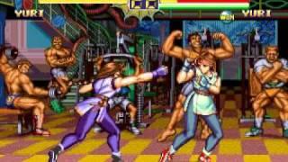 龍虎の拳2 - ユリ : 4016690pts.
