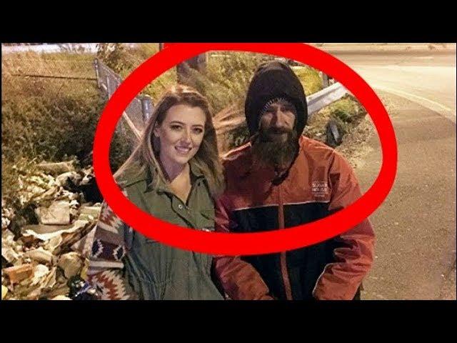 Evsiz Adam, Cebindeki Son Parayı Genç Kıza verdi. Sonra İse Milyoner Oldu.