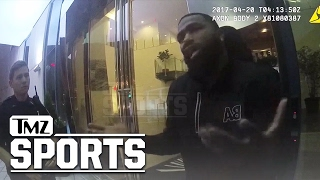 ADRIEN BRONER ARREST VIDEO 'I JUST ALMOST GOT KILLED' | TMZ Sports