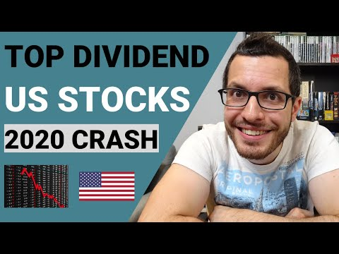 Best US DIVIDEND Stocks In 2020 Crash | Recession Proof Investing | US Dividends For Canadians