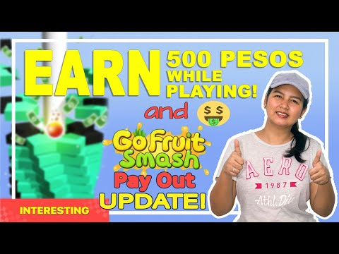 How To Earn $10 In Paypal By Just Playing STACK CRUSH | GO FRUIT SMASH PAY OUT UPDATE!