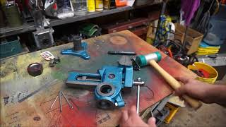 How to disassemble and repair the Shop Fox Parrot Vise or Versa Vise