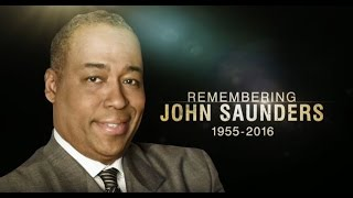 Stephen A. Smith Fights Back Tears Remembering  Longtime ESPN Host John Saunders