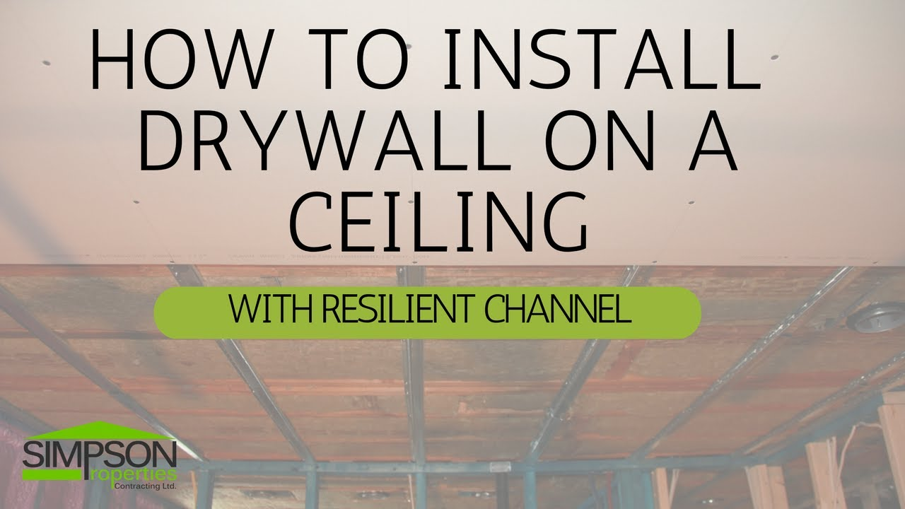 channel bailey installation furring lightneasy guide resilient net ceiling leveling