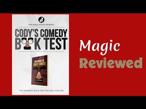 Cody/'s Comedy Book Test by Cody Fisher /& the Magic Estate from Murphy/'s Magic