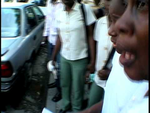 School Collapse Haiti Mother Rejoices/Finds Daughter TELEMAX