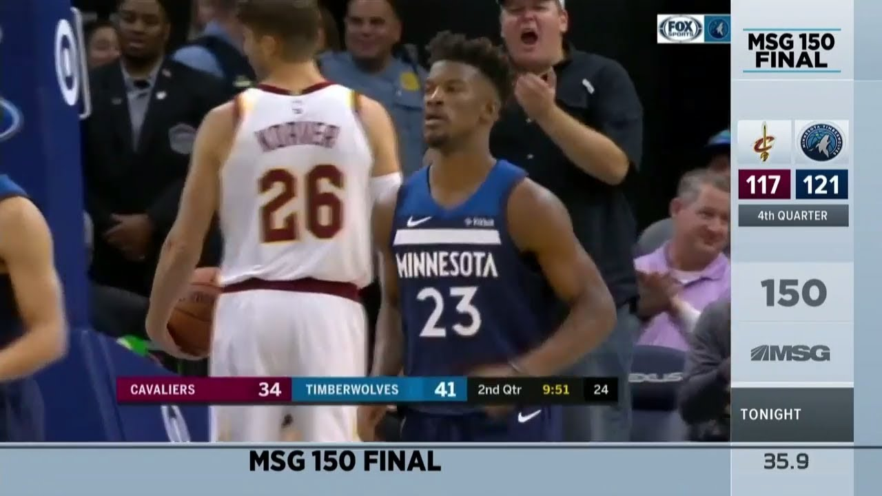 Msg 150 Did The Timberwolves Fans Boo Jimmy Butler On Opening
