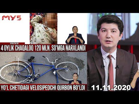 Markaziy Studiya 11.11.2020 - 4 Oyik Chaqaloq 120 Mln. So`mga Narxlandi
