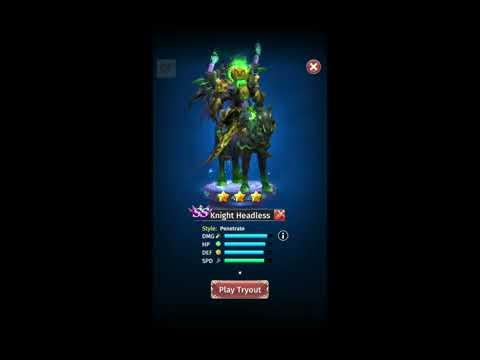 Hyper Heroes NEW Hero Knight Headless 2nd Opinion