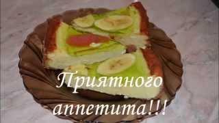 Творожный пирог с желе видео рецепт!
