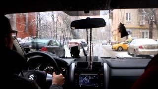 Вождение в городе  Автоинструктор   преподаватель Владимир Табарин1