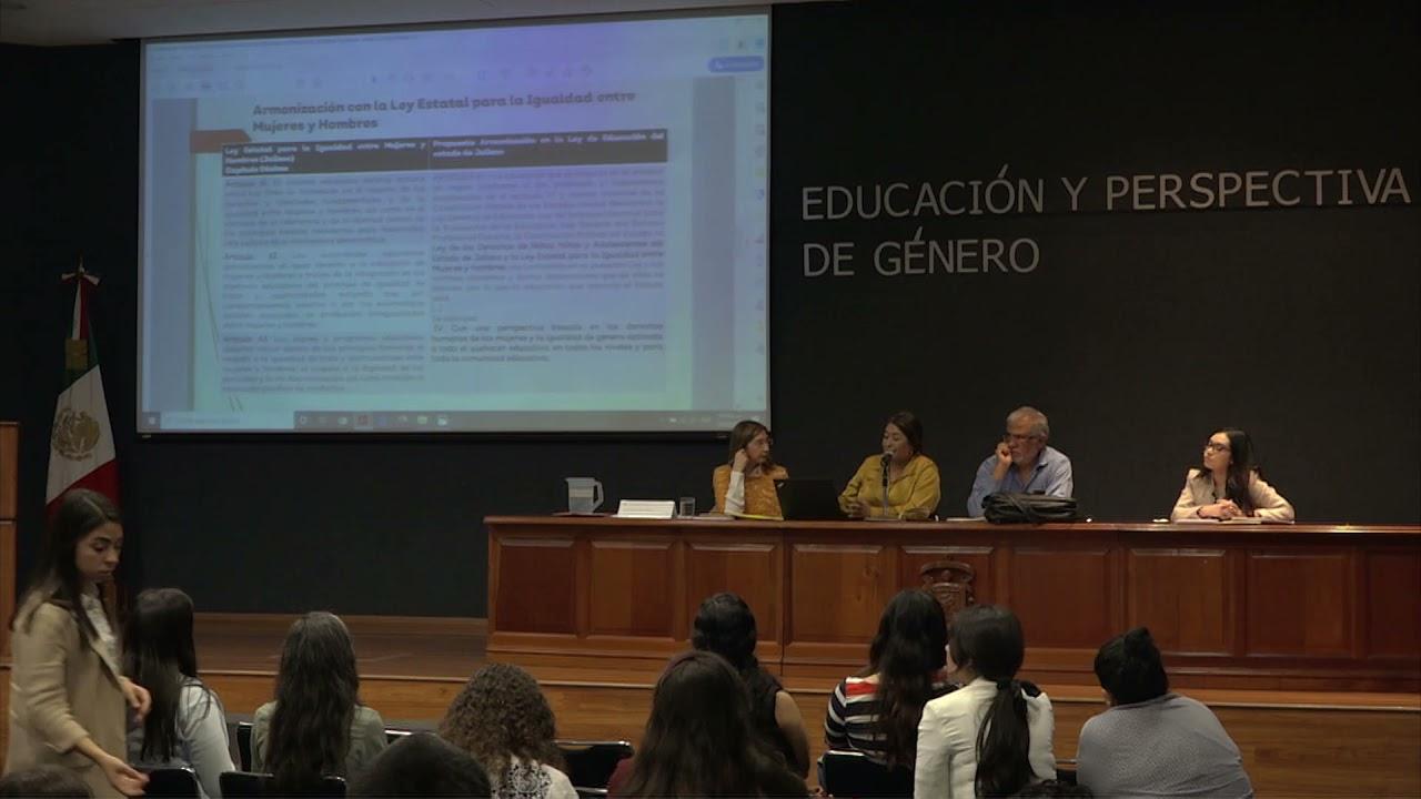 Panel: Educación y perspectiva de género 2