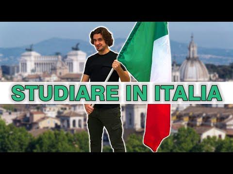 Как поступить учиться в Италию | учеба в итальянском вузе | studiare in Italia