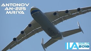 "4Kᵁᴴᴰ / *CLOSE UP* ANTONOV AN-225 ""MRIYA"" - AMAZING TAKEOFF & DISPLAY @ ILA BERLIN 2018"
