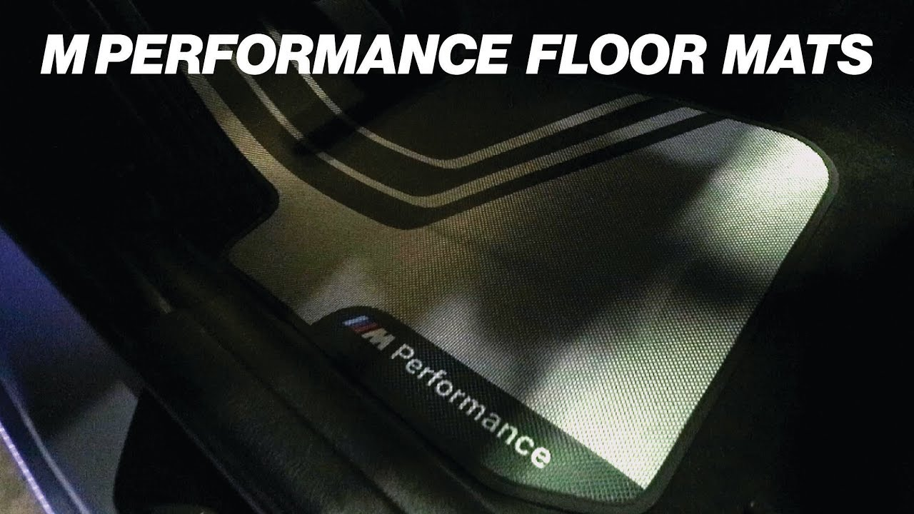 Bmw F30 M Performance Floor Mats Upgrade Youtube