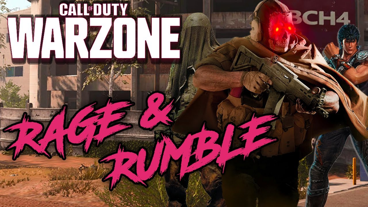 Rage and Rumble at TV Station in CoD WARZONE!!!