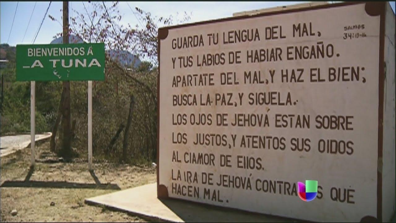 La Tuna El Pueblo Donde Nacio El Chapo Guzman Noticiero
