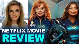 Thunder Force REVIEW - Netflix 2021