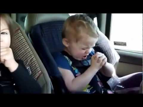 Little kids singing to korn